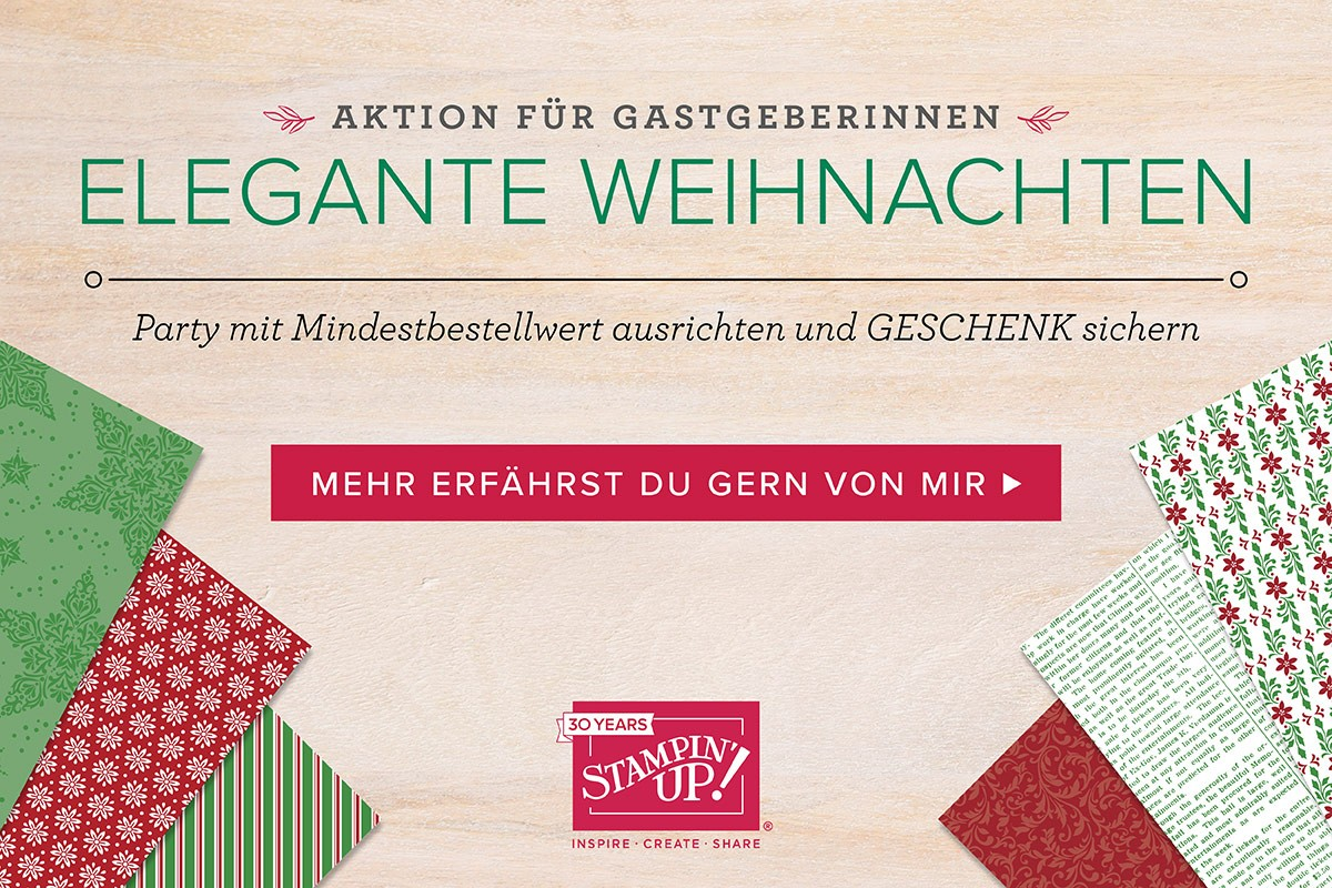 Gratisprodukte, Designpapier, Weihnachte, Stampin`Up, Septemberaktion